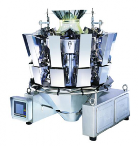 Ten head weigher